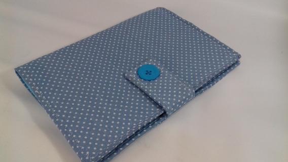 Capa Caderneta De Vacinação - Menino - Poá Azulzinho