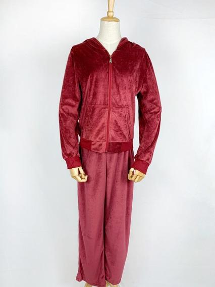 Promoção Conjunto Blusa E Calça Moletom Feminino Veludo Algodão Inverno Frio Academia