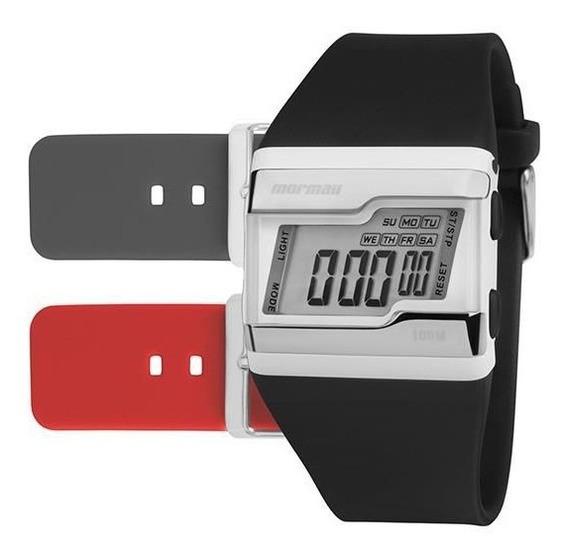 Relógio Mormaii Masculino Ref: Fzm/t8a Troca Pulseira