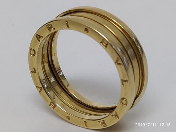 Anel Bulgari Bvlgari Original Ouro 18k