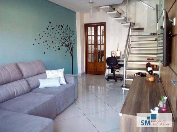Sobrado Residencial À Venda, Demarchi, São Bernardo Do Campo. - So0086