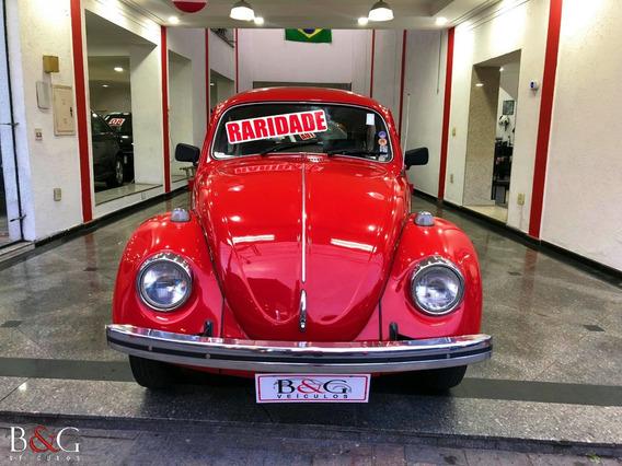 Volkswagen Fusca 1300 - 1976 - Raridade - Placa Preta