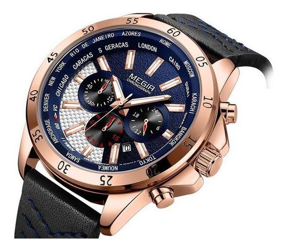 Reloj Sport Cronómetro Sumergible 30mts Maquinaria Japonesa!