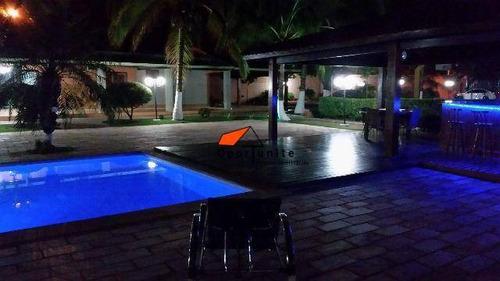 Chácara Com 3 Dormitórios À Venda, 5000 M² Por R$ 1.900.000,00 - (l-11) - Ribeirão Preto/sp - Ch0004