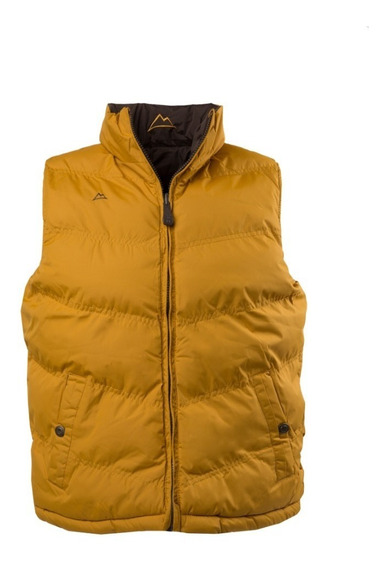 Chaleco Icy Denver Doble Vista Ve120517-7 Yellow/brown