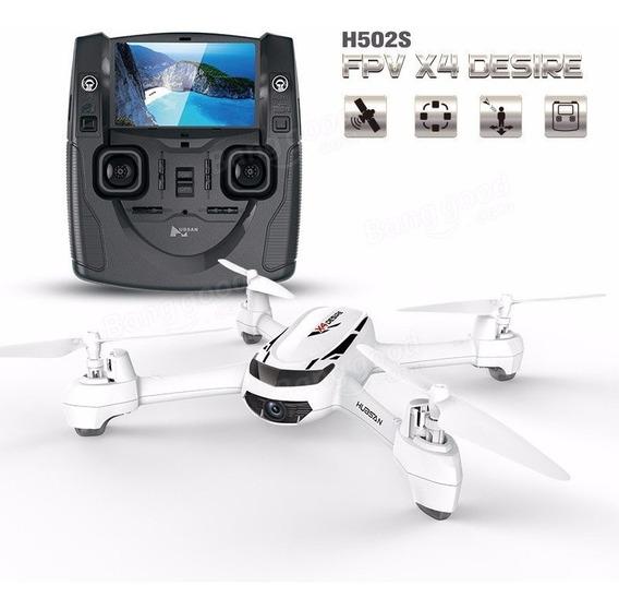 Drone Hubsan X4 H502s Fpv Com Gps Camera Hd Modelo 2017