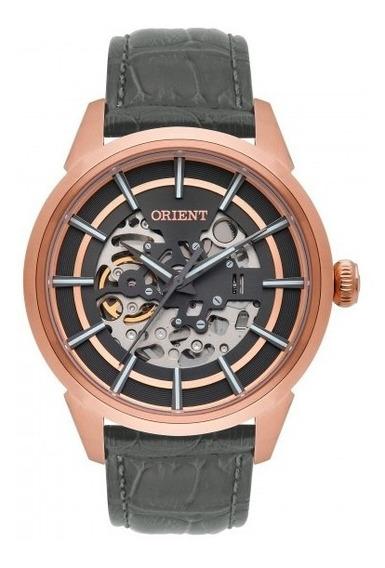 Relógio Orient Nh7rc001 G1gx Masculino Dour Rosê - Refinado
