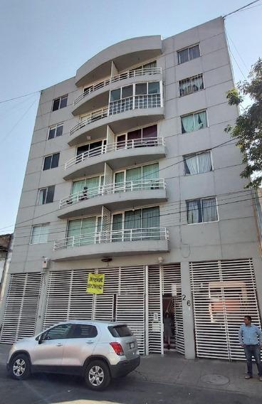 Departamento En Venta En Tlaxpana, Miguel Hidalgo, Distrito Federal