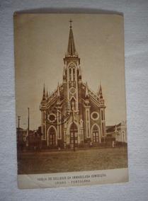 Cartão Postal Ceará Igreja Colégio Imaculada 1918