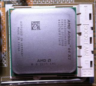 Procesador Amd Athlon + Cooler + Disipador Aluminio