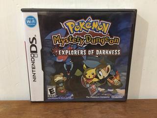 Pokemon Mystery Dungeon Explorers Of Darkness Ds Nuevo