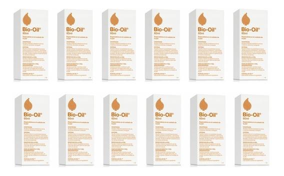 Bio Oil Tratamiento Para Estrías Y Cicatrices 60 Ml Pack X12