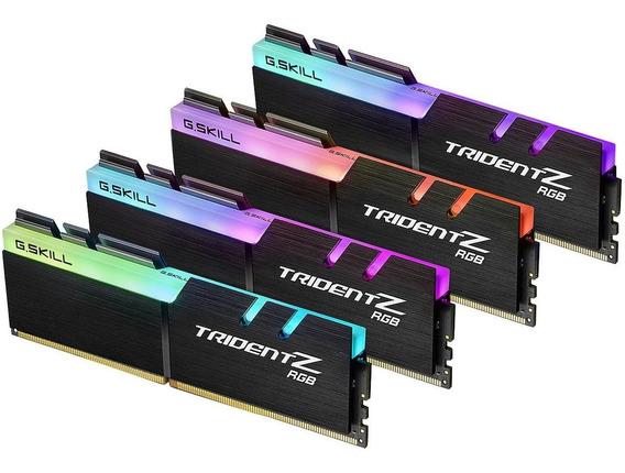 Memoria Ram 32gb G.skill Tridentz Rgb Series (4x8gb) Ddr4 3600mhz Dimm F4-3600c17q-32gtzr