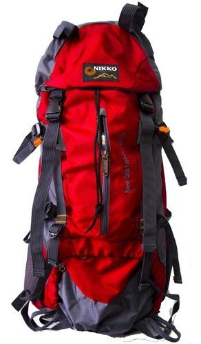 Mochila Viaje Trekking Paseo Nikko 50 Lt Trekking + Cobertor