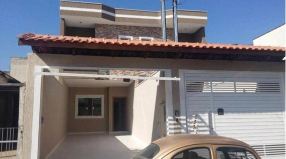 Sobrado Geminado Alto Padrão Para Venda Em São Paulo, Vila Carrão, 3 Dormitórios, 1 Suíte, 3 Banheiros, 2 Vagas - 0140_2-820851