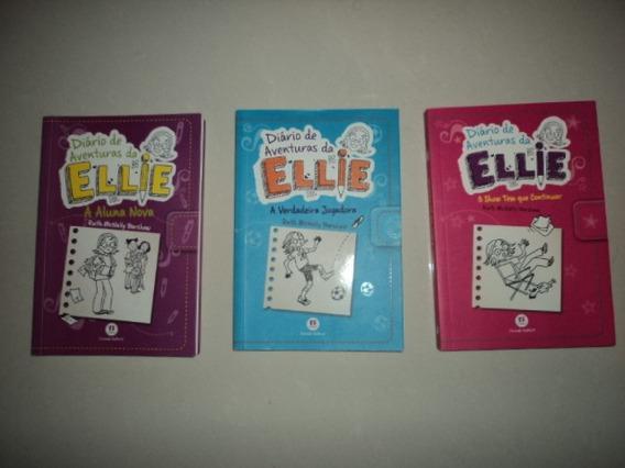 7 Livros 3 Diário Aventuras Da Ellie +4 Série Andy Griffiths