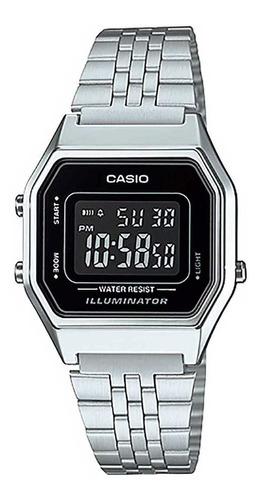 Relógio Casio Original Feminino La680wa-1bdf Com Nota Fiscal