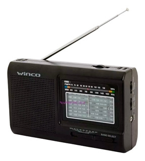 Radio Electrica Y Pilas Winco Am Fm ¡ Excelente Sonido !