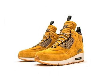 Nike Air Max 90 Sneakerboot Wheat 684714-700 (zeronduty)