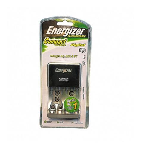 Imagen 1 de 3 de Cargador Universal Pilas Recargable Energizer Aa/aaa/9v Chcc