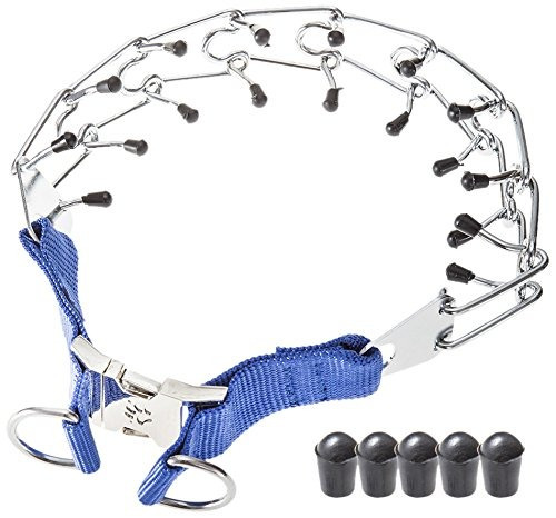 Gaity Pet Dog Prong Collar Training Metal Gear Pinch For Dog