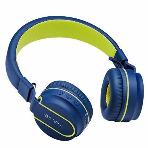 Fone De Ouvido Headphone Pulse Fun Bluetooth Azul Ph218