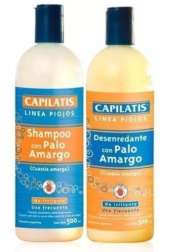 Capilatis Evita Piojos Shampoo + Acondicionador X 500ml
