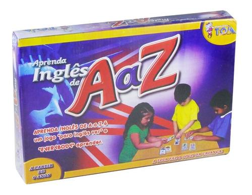 Brinquedo Educativo Aprenda Inglês De A A Z