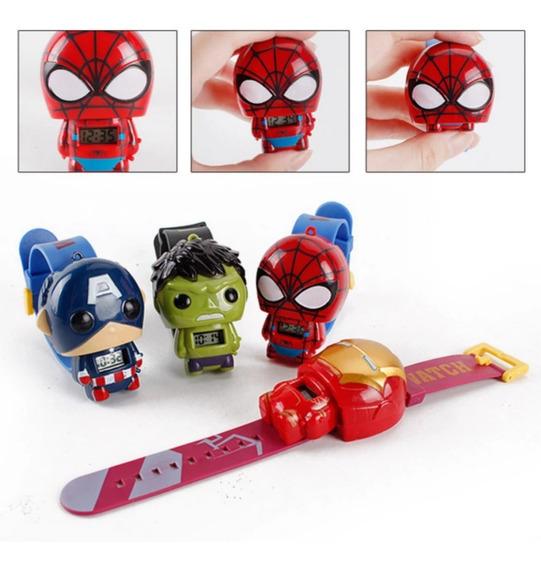 Reloj Para Niño Vengadores Iron Man