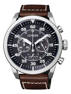 Reloj Citizen Ca4210-16e Aviator Crono Eco Drive Ag. Oficial