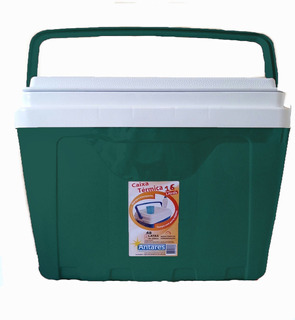 Caixa Térmica 16 Litros Capacidade 22 Latas De 350 Ml Cooler