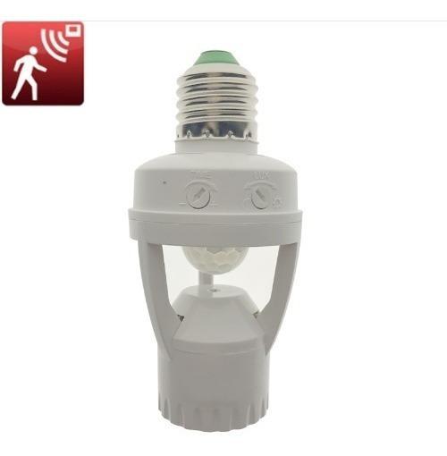 20 Sensor Presença Com Fotocélula P/ Lâmpada Soquete E27