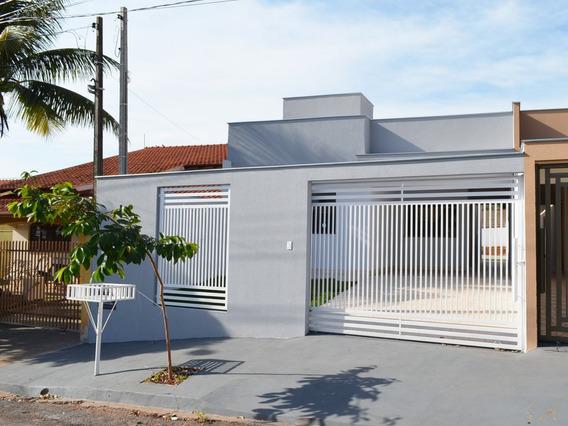 Casa Geminada 100m², 3 Quartos, Vila Romana, Ibiporã-pr