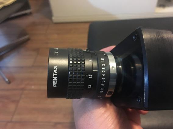 Câmera Inspeção Lumenera Lu175m Monocromática Lente Pentax