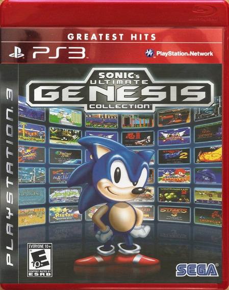 Jogo Sonic Ultimate Genesis Collection (novo) Ps3