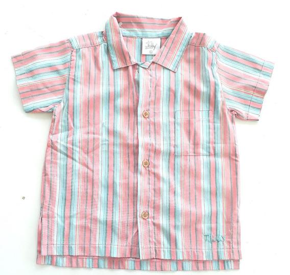 Camisa Social Infantil Menino - By Tilly