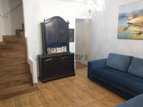 Sobrado Com 2 Dormitórios À Venda, 110 M² Por R$ 680.000,00 - Mooca (zona Leste) - São Paulo/sp - So0352