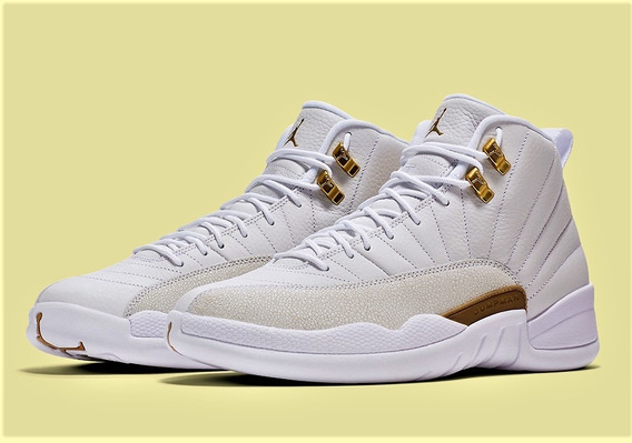 Air Jordan 12 Ovo White 873864-102(zeronduty)super Exclusivo