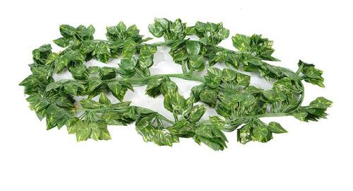 Enredadera Artificial Verde Hiedra Tira De Hojas Planta