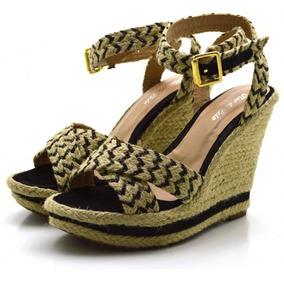 95769b5f80 Corda De Sisal Trançada Sandalias - Sapatos no Mercado Livre Brasil