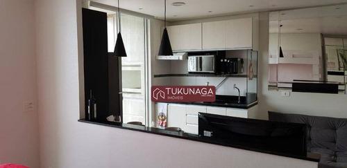 Studio Com 1 Dormitório Para Alugar, 36 M² Por R$ 2.000,00/mês - Vila Augusta - Guarulhos/sp - St0097