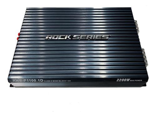 Imagen 1 de 8 de Amplificador Monoblock 2200w Clase D Rock Series Rksp1100.1d