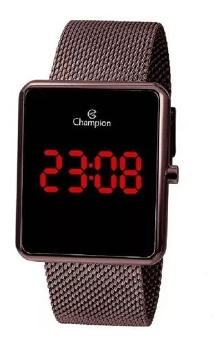 Relógio Champion Feminino Marrom Ch40080o