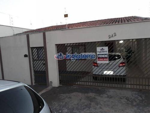 Casa À Venda, 180 M² Por R$ 420.000,00 - Santos Dumont - Londrina/pr - Ca0236