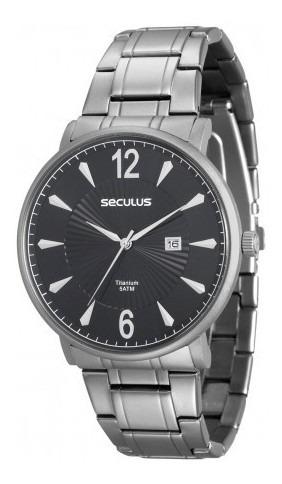 Relógio Seculus Titânio 20531g0svnt1 - Ótica Prigol