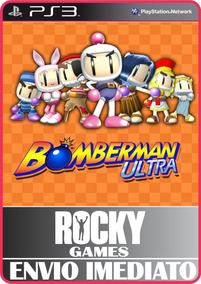 Jogo Ps3 Bomberman Ultra Psn Play 3 Mídia Digital
