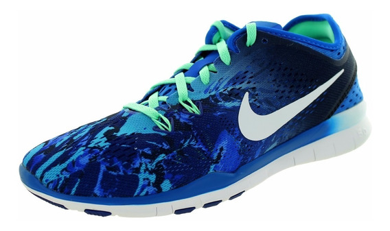 Tênis Wmns Nike Free 5.0 Tr Running Fit 5 Prt Novo 1magnus