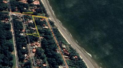 Terreno Segunda Quadra Mar Em Itapoá Sc.(veiculo Na Fipe)