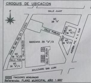 Dueño Vende Terreno Gualeguay 190,74m2 Acepto Vehículo