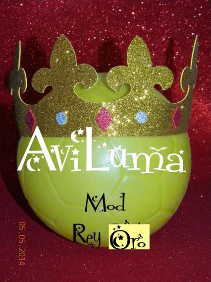 Souvenir Corona Tiara Vincha Princesa Rey Principe Aviluma